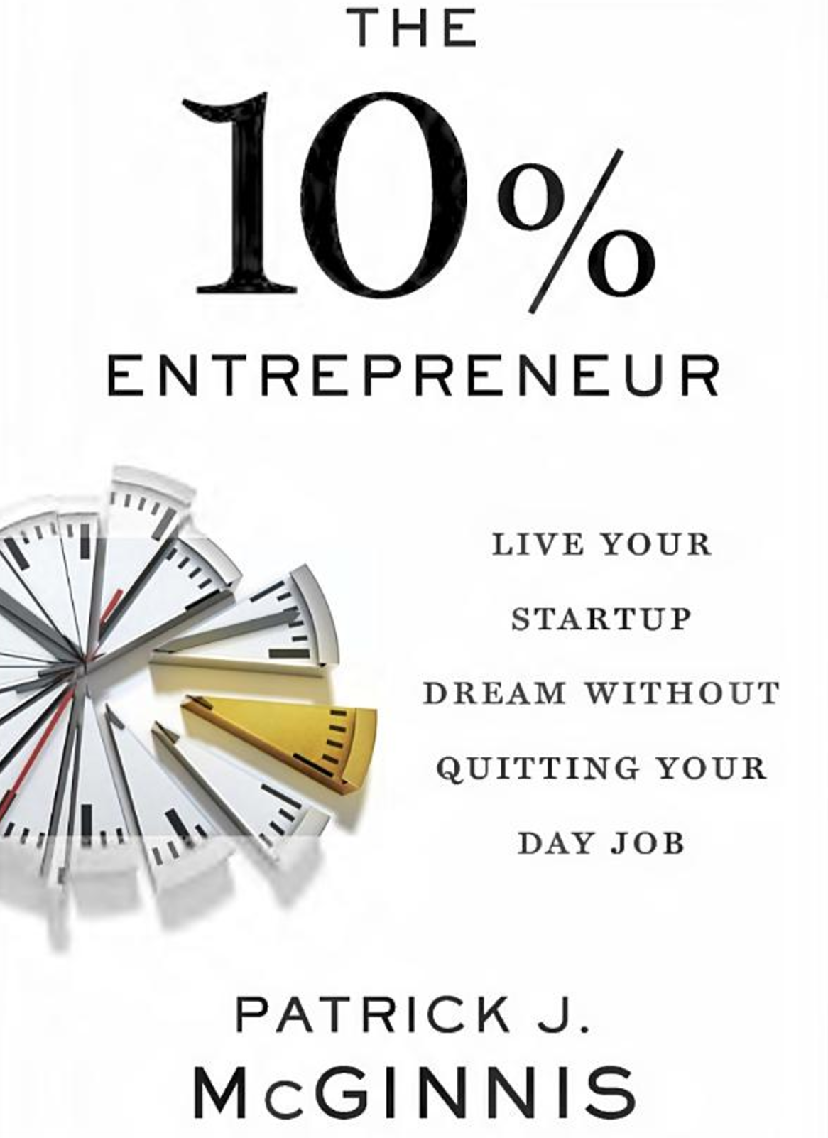 The 10% Entrepreneur Book Cover